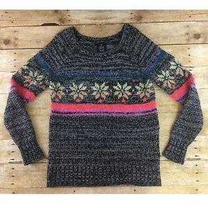 American Eagle Cozy fair isle knit sweater Small